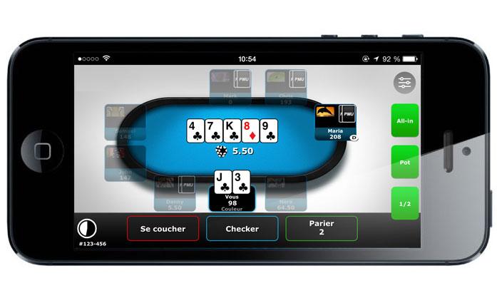 Telecharger pmu poker sur tablette android